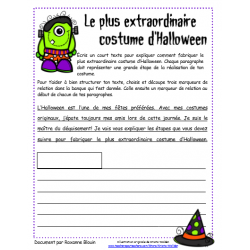 Le plus extraordinaire costume d'Halloween
