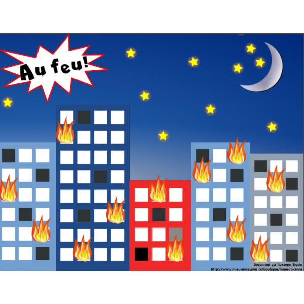 Au feu! : Jeu de multiplications