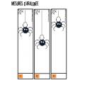 Mesures d'araignée