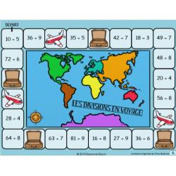 Divisions en voyage