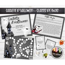 Cachette d'Halloween : Classes de mots