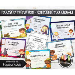 Trousse d'intervention - Conscience phonologique