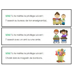 Coupons de privilèges