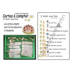 Collection Chantois, Cartes à compter