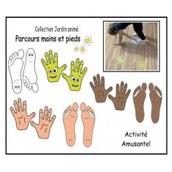 Parcours mains et pieds