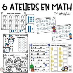 Ateliers de mathématique - Version hivernale