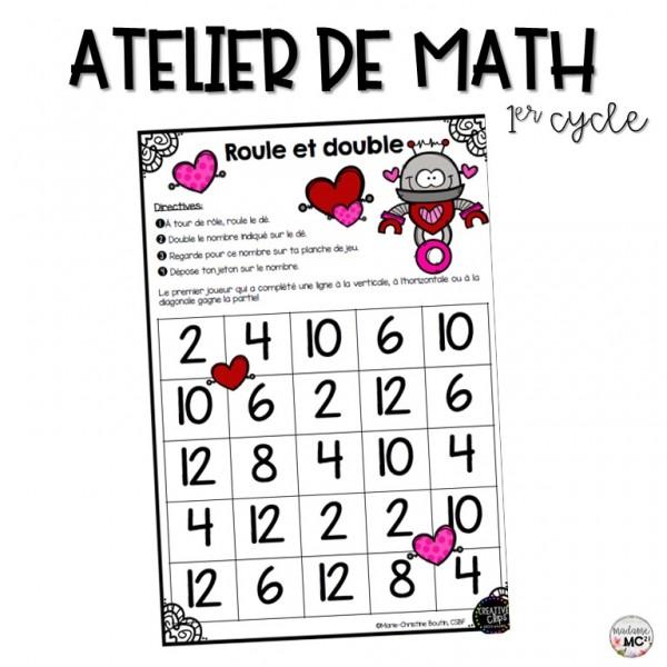 Atelier de math - Double