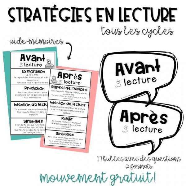Stratégies en lecture