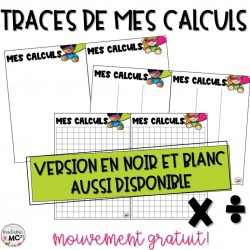 Multiplication et division - calculs - 2e cycle