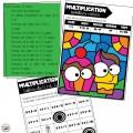Multiplication - cahier d'entrainement - 2e cycle