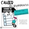 Cahier de grammaire - 2e année