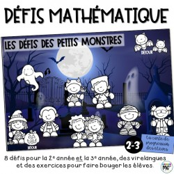 Défis des petits monstres (mathématique)