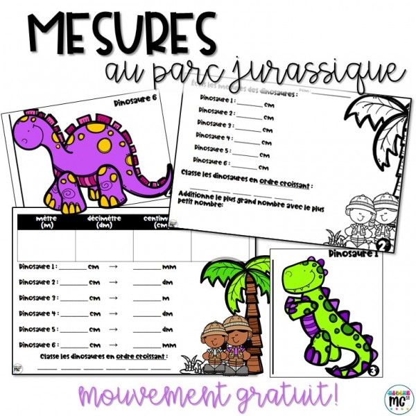 Mesures - Jurassic Park