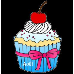 Gâteaux et chandelle d'anniversaire