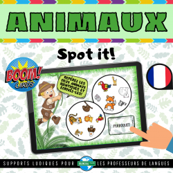 Boom Cards™ LES ANIMAUX | Animals in French