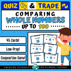 Comparing WHOLE NUMBERS up 100