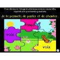 Activité interactive printemps-Mots à l'étude 2e