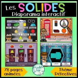 Diaporama/Jeu interactif sur les solides