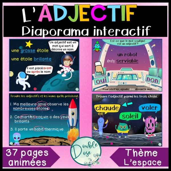 Diaporama |jeu interactif - Adjectif