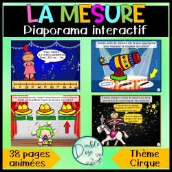 Diaporama |jeu interactif - La mesure