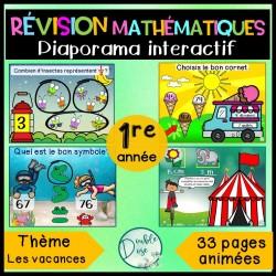 Diaporama interactif - Révision math 1re année