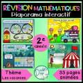 Diaporama interactif - Révision math 2e année