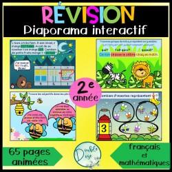 Diaporama interactif - Révision 2e année