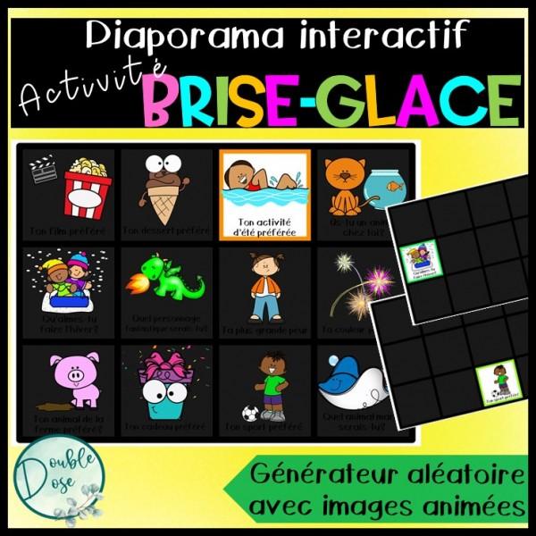 Activité brise-glace interactive-Rentrée scolaire