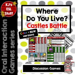 Oral Interaction Game: Where do you live?