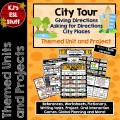City Tour: Directions, City Places and Workers