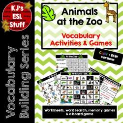 Vocabulary Building: Zoo Animals