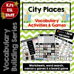Vocabulary Building: City Places