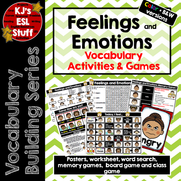 Vocabulary Buiding: Feelings and Emotions