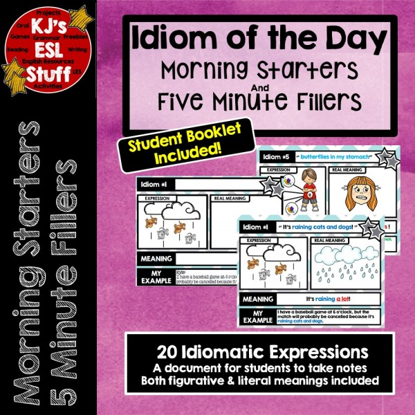Idiom of the Day: Morning Starters