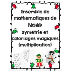 Ensemble d'activités mathématiques de Noël