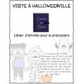 Cahier Halloween préscolaire
