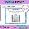 Verbes en ER conjugaison Présent tableau référence