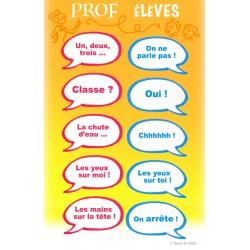 Affiche prof/élèves