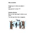 Récit d'écriture à la cabane à sucre