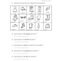 Exercices mathématiques sens de l'espace