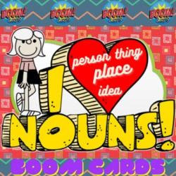 Boom cards : The Noun : 3rd Grade