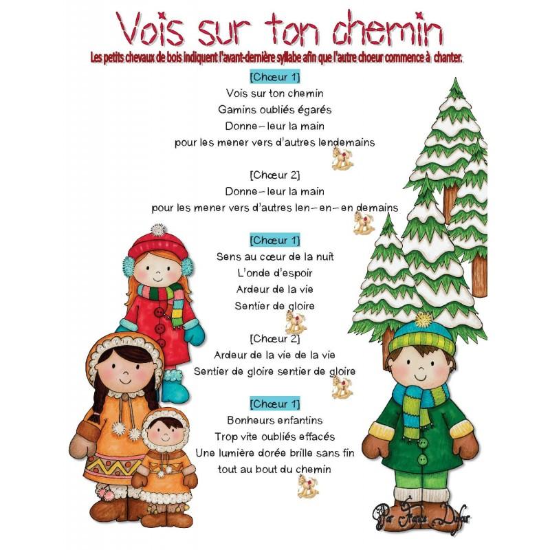 Chorale Marché de Noël !Cahier 37 CHANSONS!!