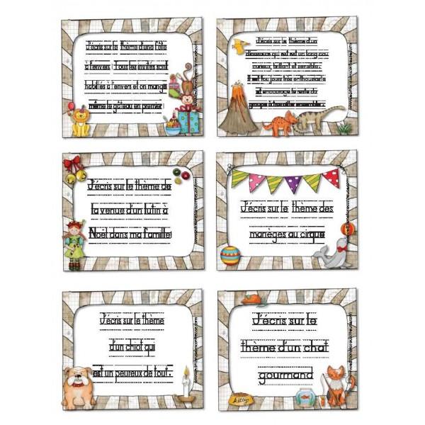 Écrire chaque jour mini-cartes!