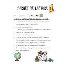 CARNET  de LECTURE