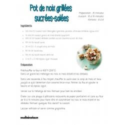 Recette Pot noix grillées en cadeau