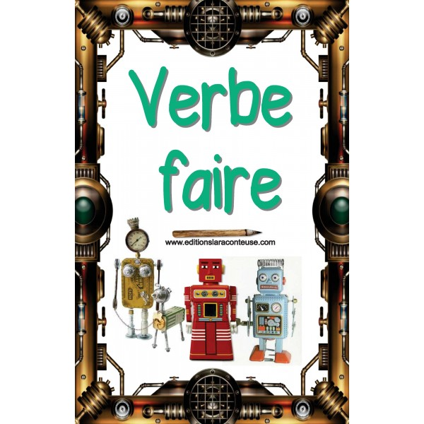 62 AFFICHES VERBES robots