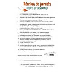 1ère communication et Réunion animée avec élèves!