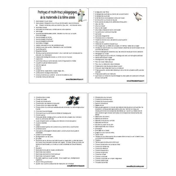 120 Pratiques et multi-trucs pédagogiques