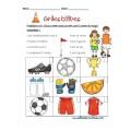 Des grilles logiques (9)(soccer, dinosaure, et..)