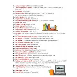Liste 60 livres ATELIERS d'ÉCRITURE !